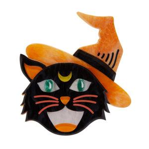 Hex Kitten Brooch