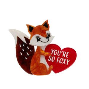 You're So Foxy Brooch