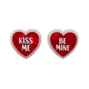 Bee Mine, Valentine Earrings